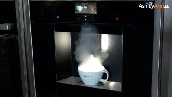 Impress your guests with <br>a voice controlled cappuccino